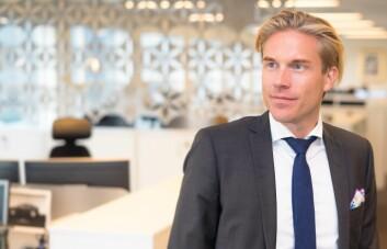 Christoffer O. Hernæs, leder for innovasjon og utvikling i Sbanken. Foto: Sbanken