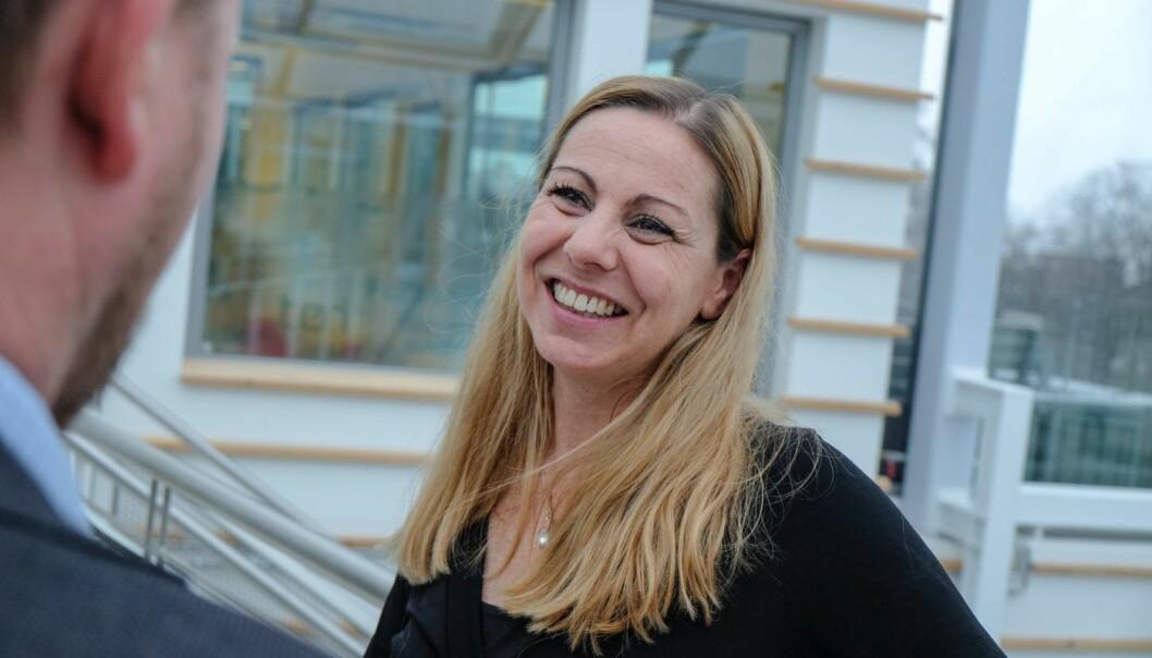 Heidi Frost Eriksen var Huddlys salg- og markedssjef. Nå blir hun CEO i Technebies. Foto: Vilde Mebust Erichsen