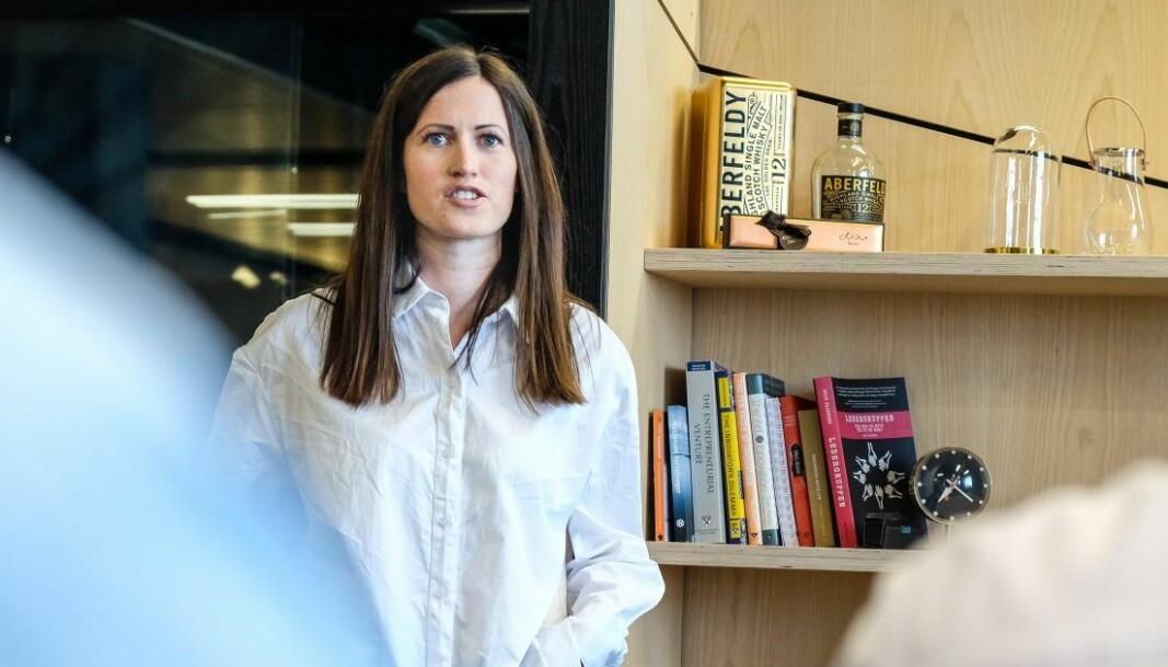 Marie Mostad i Inzpire.me. Foto: Vilde Mebust Erichsen