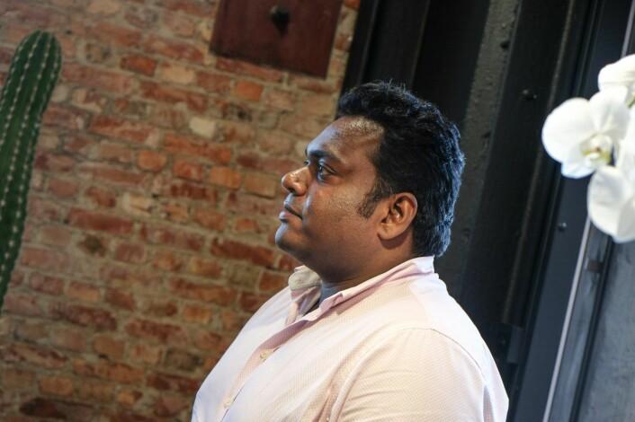 Eeswaran Navatratnam, partner i Amsterdam- og London-baserte 01 Ventures. Foto: Vilde Mebust Erichsen