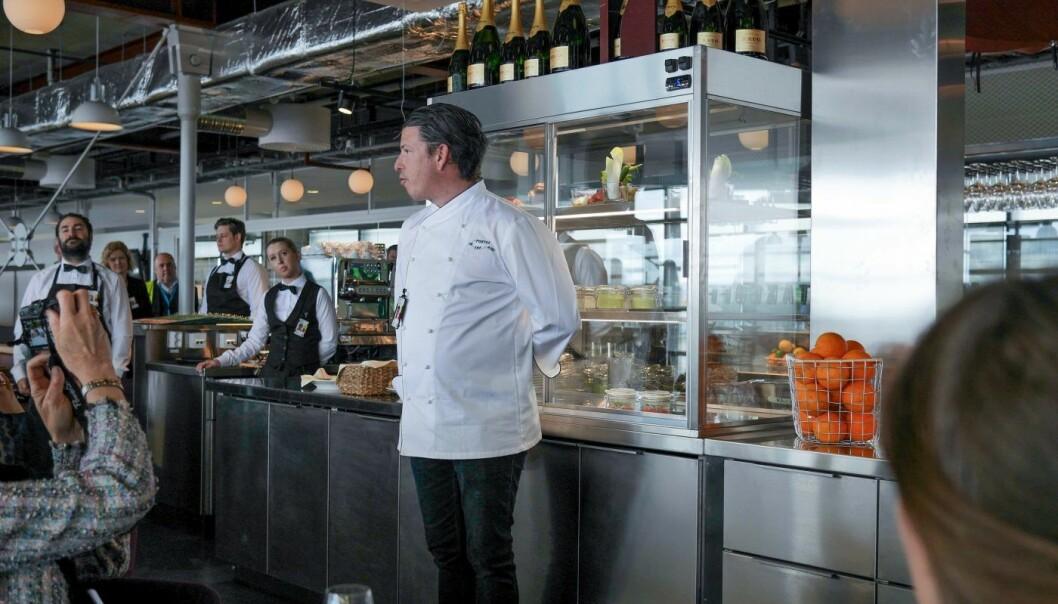 Weorder skal gjøre det mer effektivt for restauranter å ta imot take-away- og bordbestillinger. Foto: Weorder