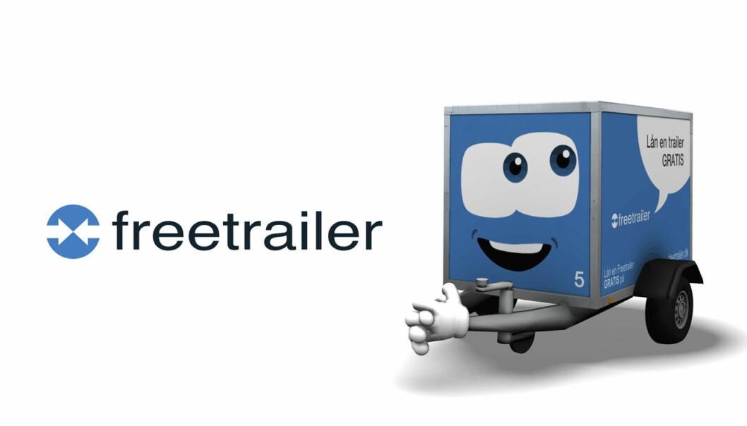 Det danske selskapet Freetrailer har 188 utleiesteder i Skandinavia, og håper å ekspandere tjenesten videre i Norge også.