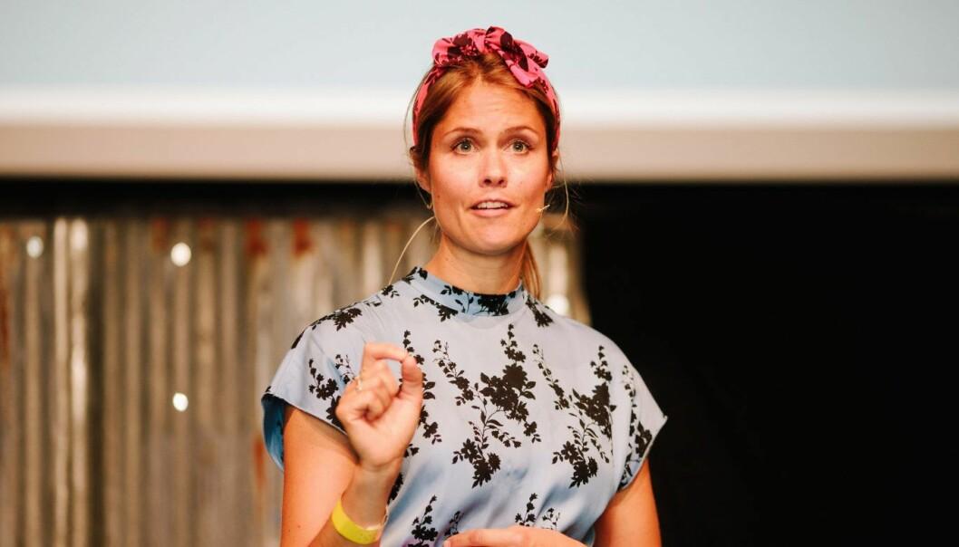 Maren Hjort Bauer skal lede Katapult Ocean. Foto: Jan Khür - www.jankhur.com