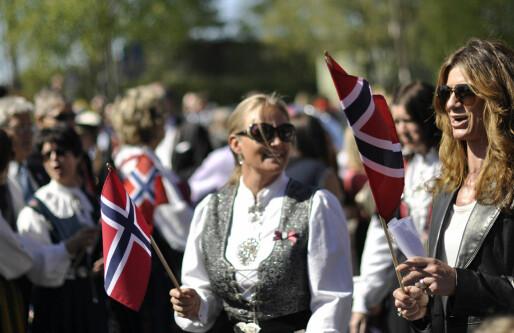 Nordmenn vippset seg til rekord på nasjonaldagen