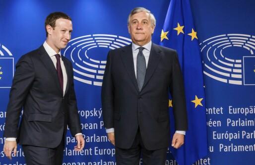 EU-topp til Facebook-sjefen: