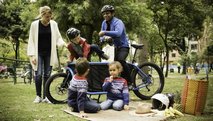Bogbi-sykkelen under uttesting. Foto: Bogbi