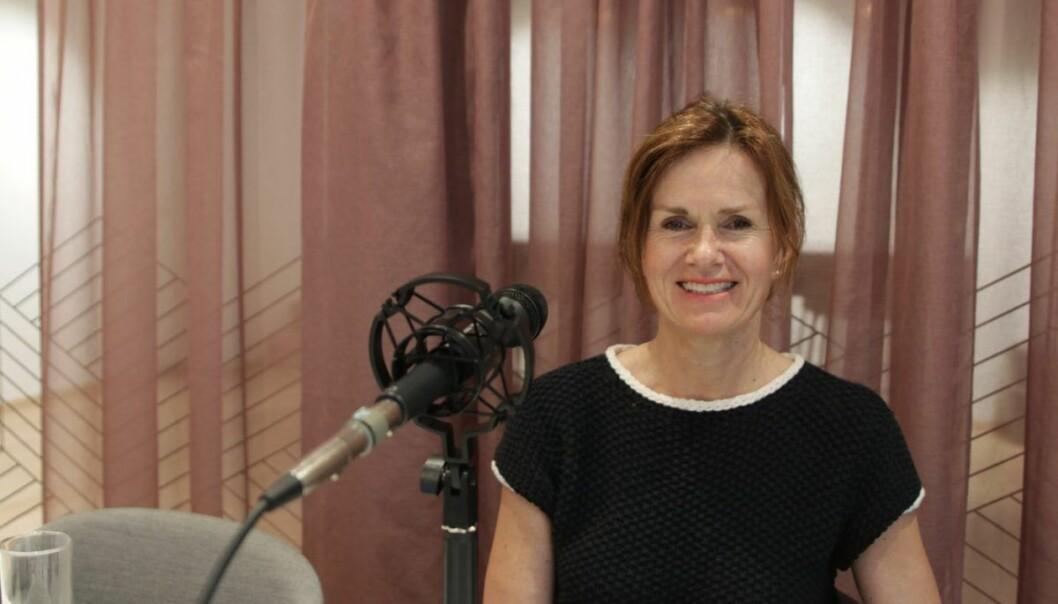 Ann-Elin Moen er coach og gründer av appen Lytte.io. I Shifters podcast forteller hun om hva som må til for å lykkes som innovatør. Foto: Lucas Weldeghebriel