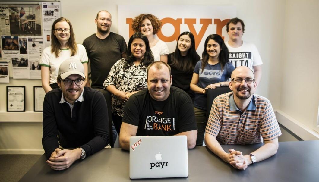 Teamet i Payr. Foto: Per-Ivar Nikolaisen
