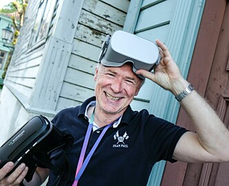 VR for demente: Han bruker TV-erfaringen til å vekke hukommelsen