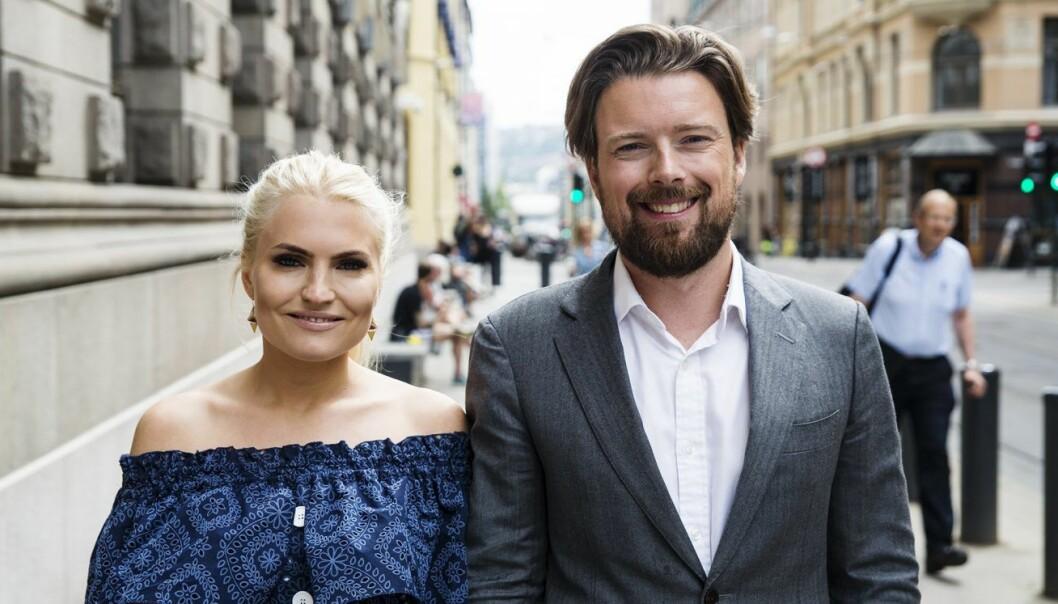 Isabelle Ringnes i HunSpanderer og Joar Hagatun i Kron. Foto: Per-Ivar Nikolaisen