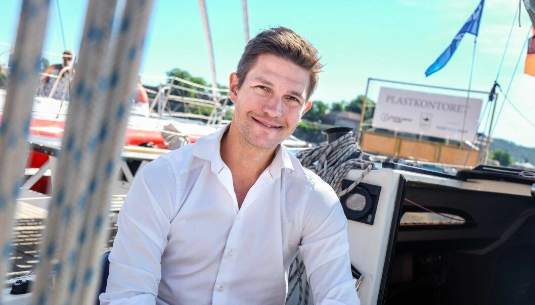 Carl Edvard Endresen, tidligere Norgessjef i Uber, fotografert i forbindelse med Shifters «sommerbåt»-intervju tidligere i år. Foto: Vilde Mebust Erichsen