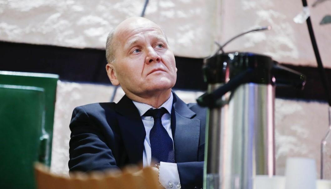 Telenor-sjef Sigve Brekke. Foto: Terje Pedersen / NTB scanpix