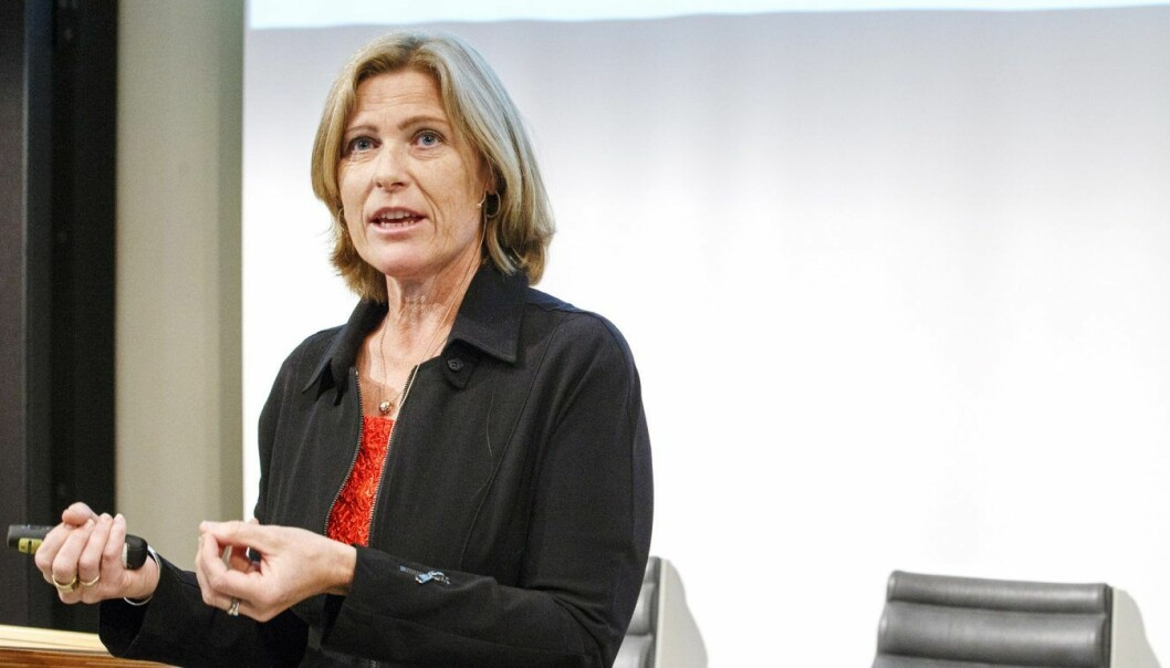 Anne Marit Panengstuen, konsernsjef i Siemens. Foto: Gorm Kallestad / NTB scanpix