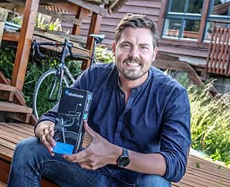 Da Bikefinder innså at produktet ikke var godt nok, klemte de i bremsen: Nå har selskapet forsikret sykler for 147 millioner kroner og tråkker til i Europa