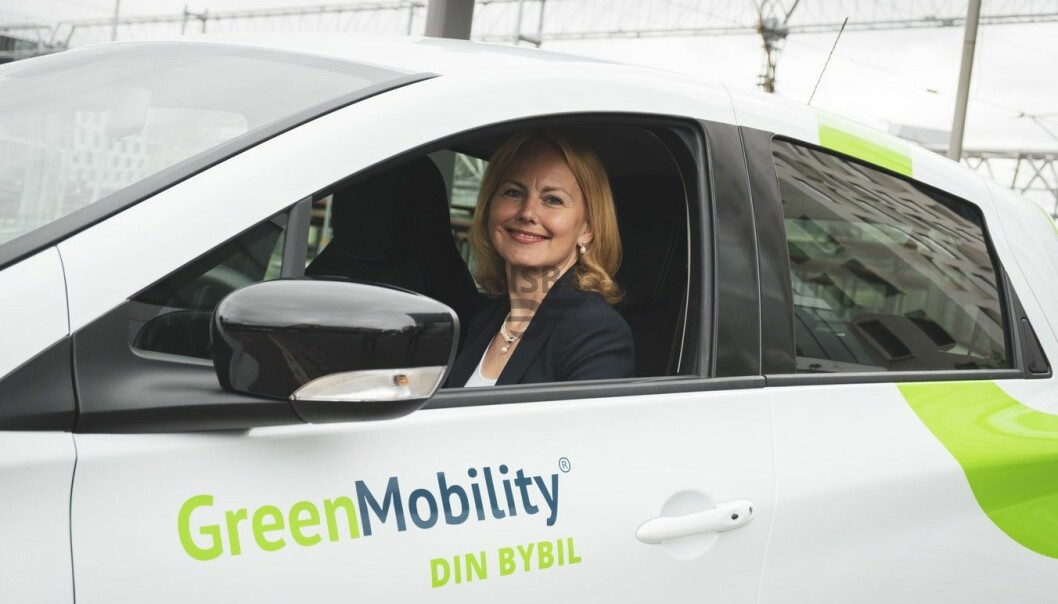 Synne Homble, konserndirektør for mobilitet og strategi i NSB (Vy) Foto: NSB/Vy