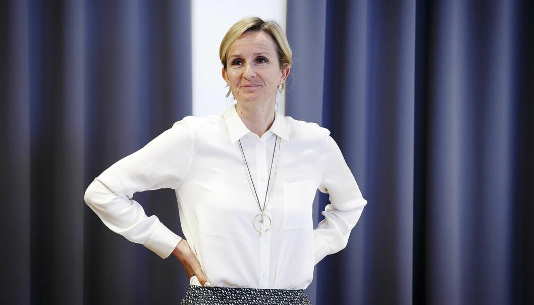 Irene Rummelhoff, Statoils konserndirektør for Nye energiløsninger. Foto: Heiko Junge / NTB scanpix