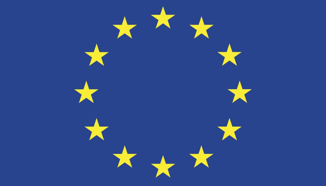 Et bilde av EUs logo -- som også blir ulovlig å publisere uten å betale for det -- hvis EUs direktiv går gjennom. Bilde: www.ec.europa.eu