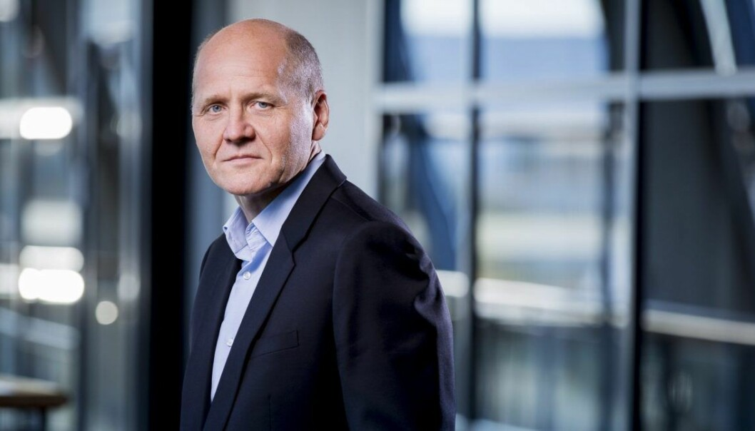 Sigve Brekke, konsernsjef i Telenor. Arkivfoto: Telenor