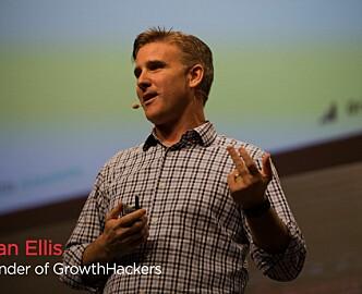 Sean Ellis til Norge: 95 prosent av selskaper som vil vokse, gjør dette feil
