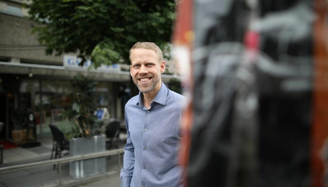 Dag Olav Norem, daglig leder i Folio. Foto: Lucas Weldeghebriel