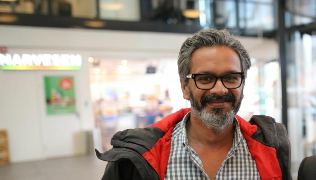 Wasim Rashid, ny plattformssjef i DNB. Foto: Lucas Weldeghebriel