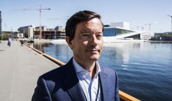 Investor Trond Riiber Knudsen. Foto: Per-Ivar Nikolaisen
