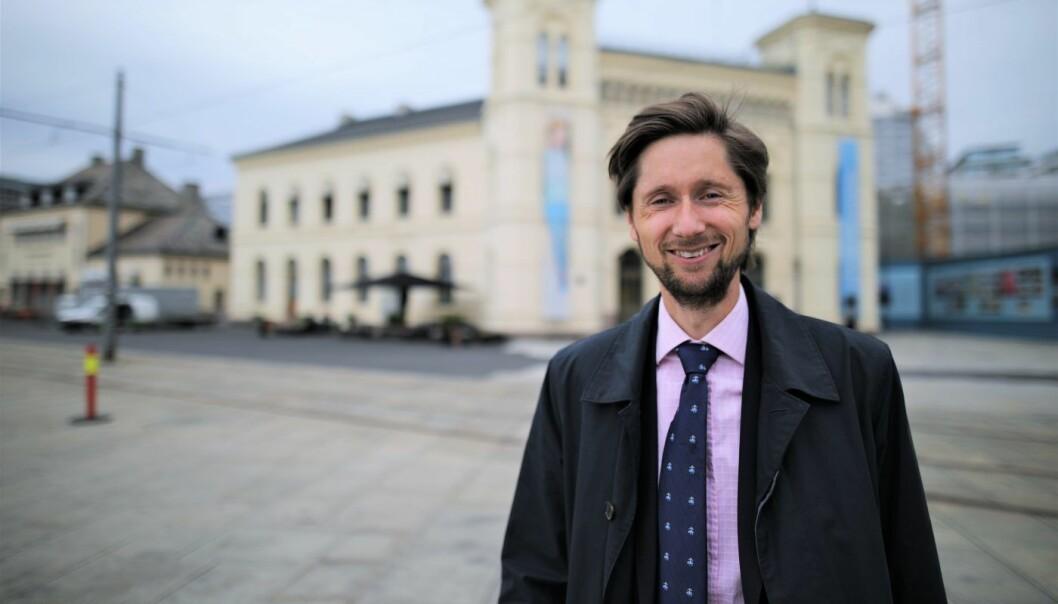 Rasmus A. T. Figenschou leder New Business i DNB,. Foto: Lucas Weldeghebriel