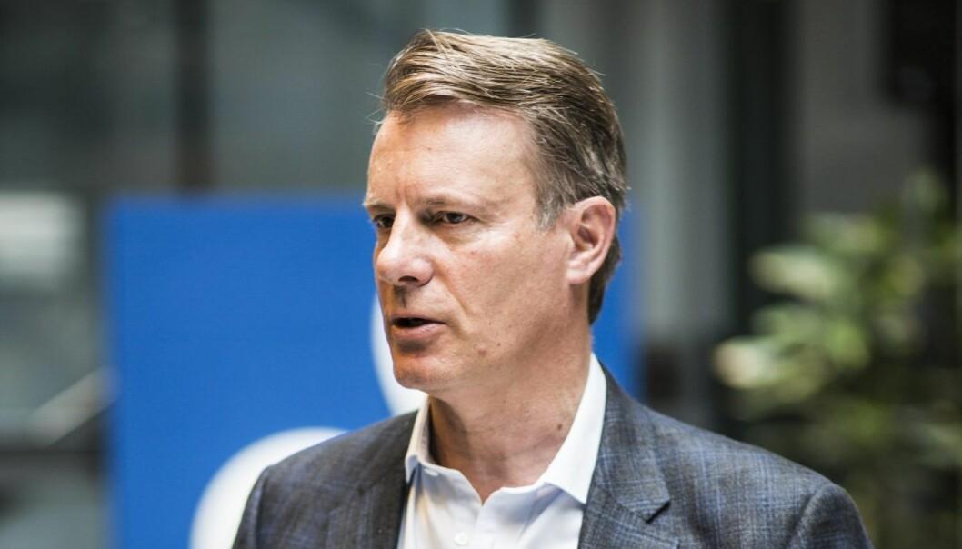 Styreleder Johan H. Andresen i Ferd.