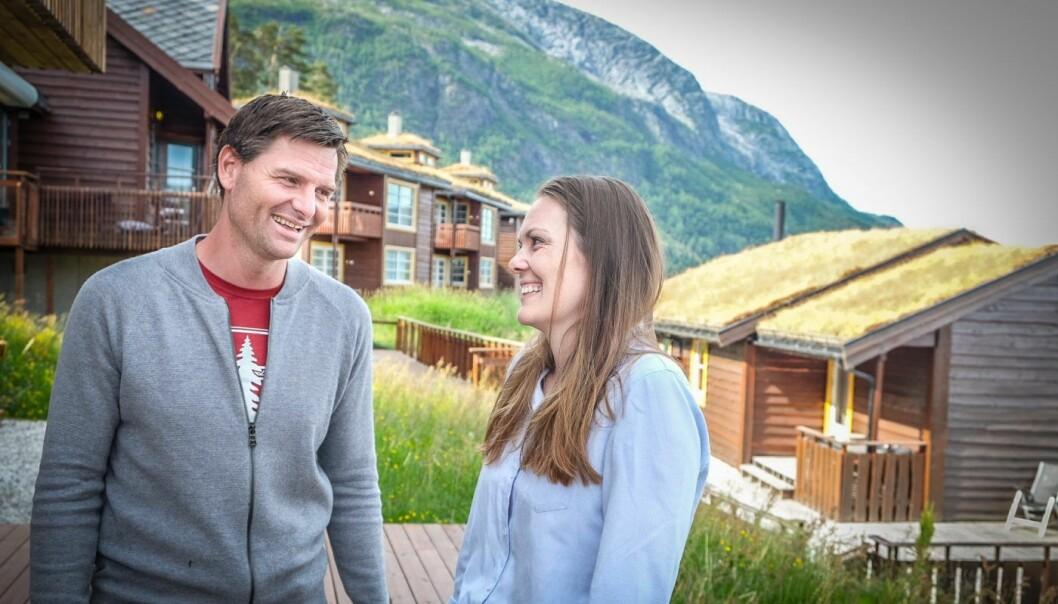 Hilde Støle Pettersen og Arve Janbru Fresvik i Momentum Partners. Foto: Vilde Mebust Erichsen