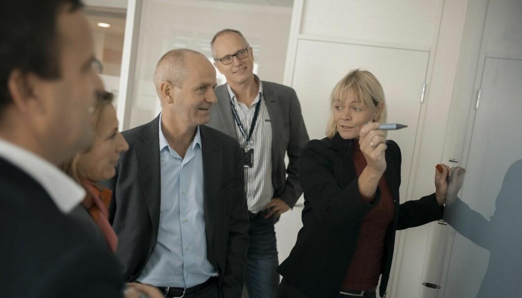 Styreleder og gründer Grethe Viksaas i Basefarm selger selskapet til den franske telegiganten Orange. Foto: Ilja C. Hendel
