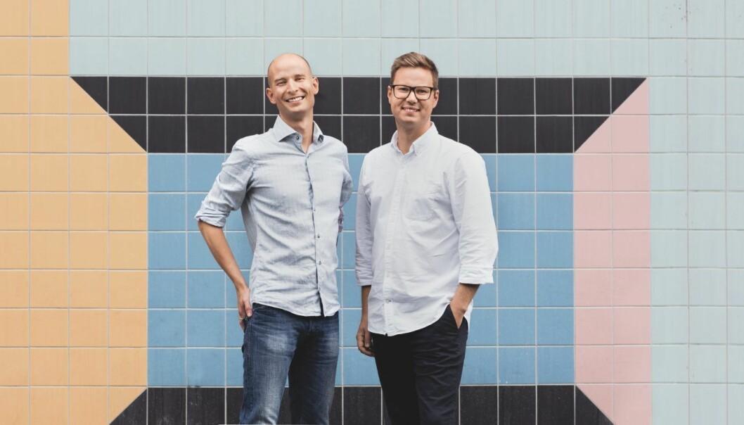 Tibbers gründere Edgeir Aksnes og Daniel Lindén. Foto: Press