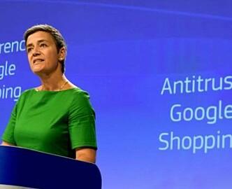 EUs bot til Google: 40 milliarder kroner!