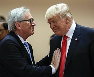 Norge gleder seg over at EU og USA er bedre venner