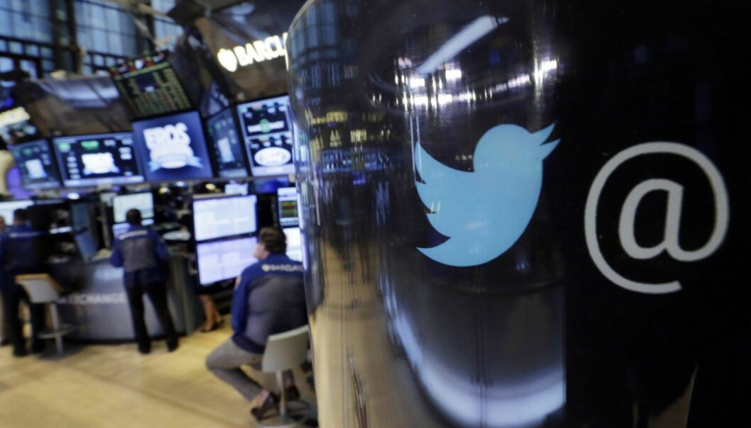 Twitter. (AP Photo/Richard Drew, File)