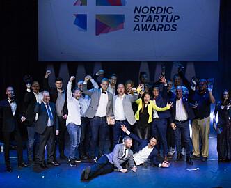 Nominasjonsdryss over norske startups - disse kan vinne Nordic Startup Award