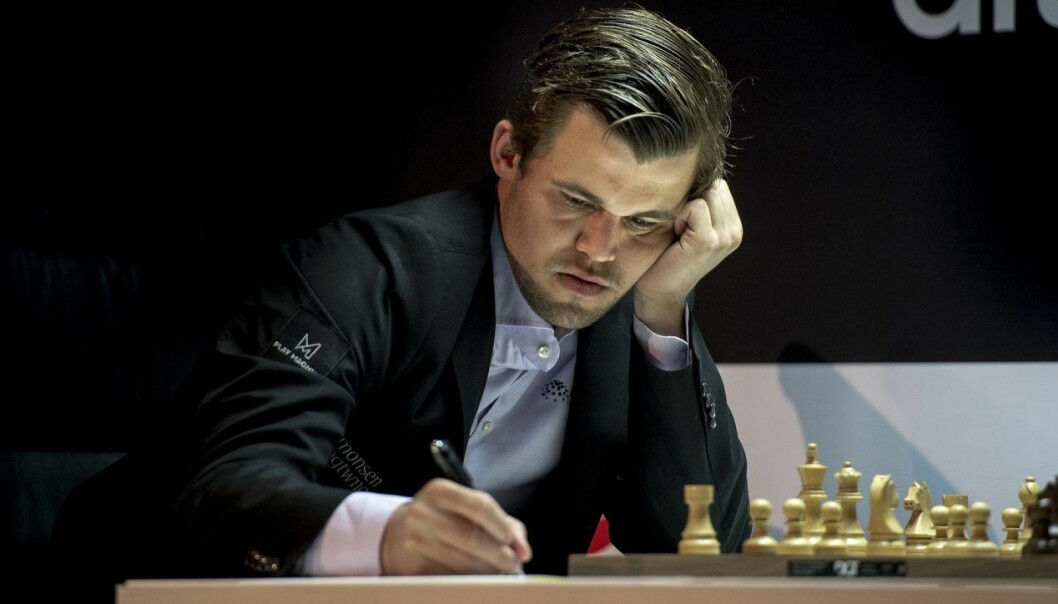 Magnus Carlsen går på børs med selskapet Play Magnus.  Foto: Carina Johansen / NTB Scanpix