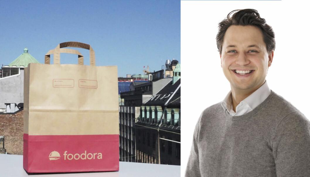 Foodora lanserer i dag en tjeneste for takeaway fra lokale restauranter. Foto: Foodora