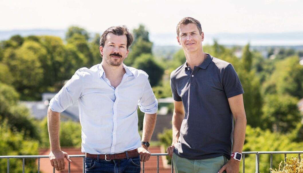 Bertil Helseth og Jeff Williams i Intelecy. Foto: Håkon Vikør Treider