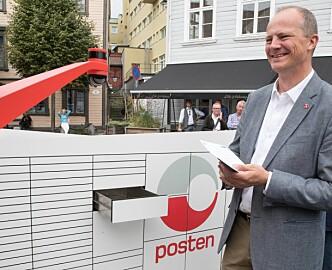 Posten ruller ut sin første brev- og pakkerobot i høst