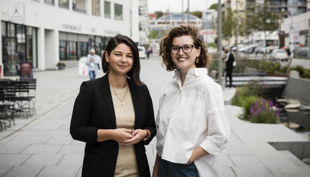 Maria Amelie og Esther Grossman i Startup Migrants.