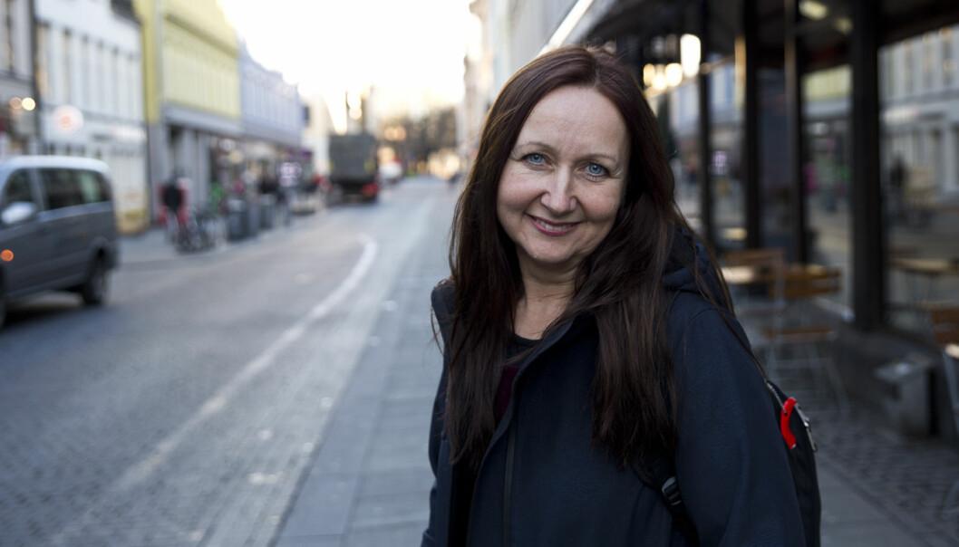 Gründer Kristin Over-Rein i BoldBooks. Foto: Per-Ivar Nikolaisen