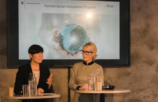 30 millioner til nyskaping i nødhjelp: