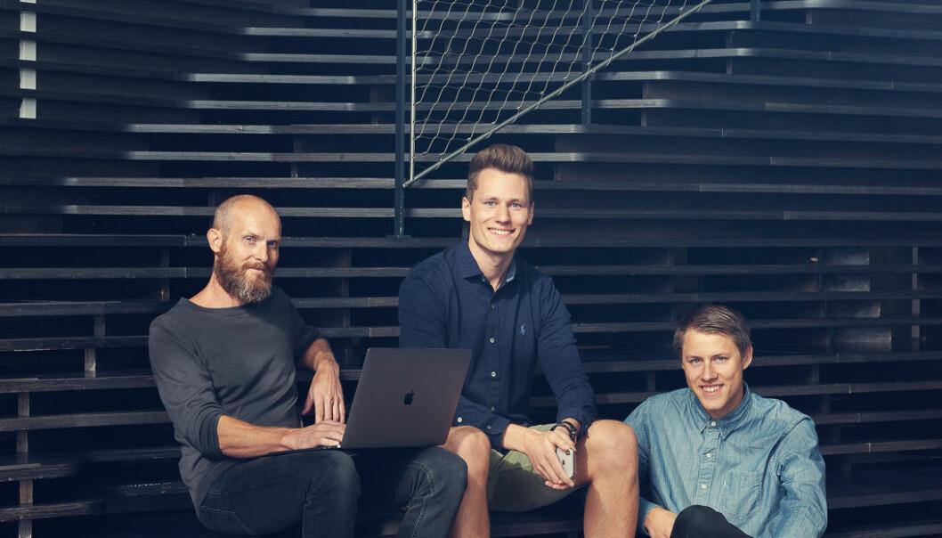 August Flatby, Kris Riise og Aksel Dybdal i Unloc. Foto: Nadia Frantsen