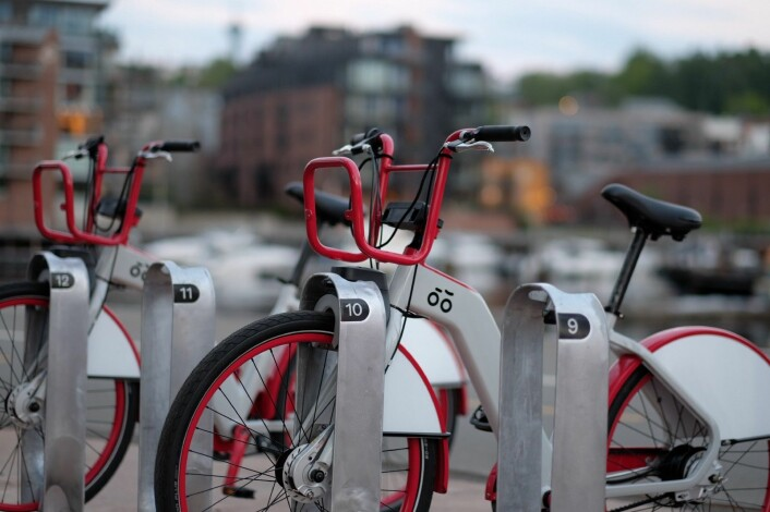 Bysyklene i Trondheim, lansert tidligere i år. Foto: UIP.