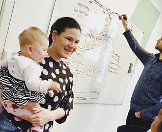 Slik optimaliserer startup-paret familielivet: – Ting må være gjennomtenkt