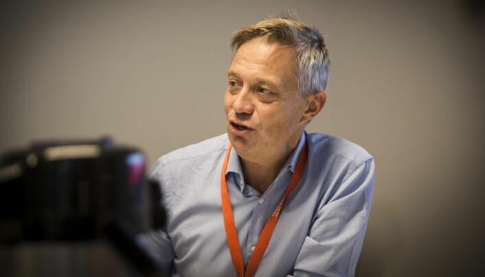Karl-Christian Agerup i Oslotech. Foto: Per-Ivar Nikolaisen