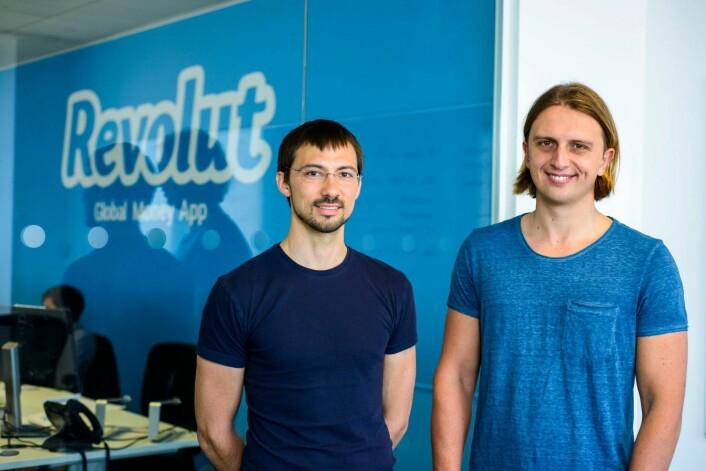 Nikolay Storonsky og Vlad Yatsenko har gründet britiske Revolut. Foto: Presse