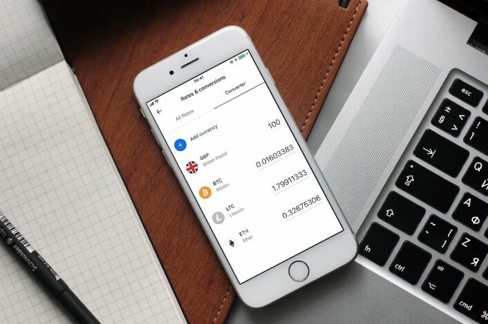 Mens mange andre banker er skeptisk til kryptovaluta, går Revolut «all in» og gir vanlige folk mulighet til å investere i Bitcoin. Foto: Presse