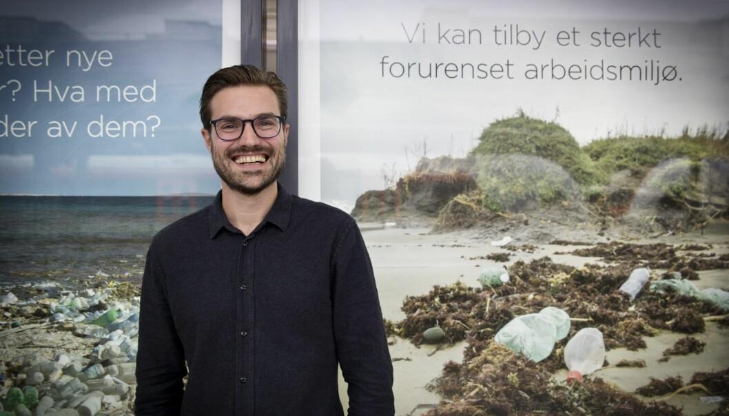 Steve Mellbye-Stølen er en av gründerne i spareappen Spiff, men nå har han fått ny jobb. Foto: Per-Ivar Nikolaisen