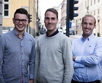 To brødre og en bestevenn henter millioner til AI-startup: Det startet med Trinity i Matrix